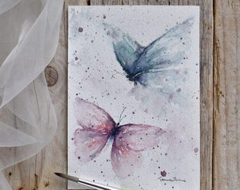 Original Painted Butterflies