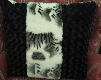 Fantastic Fur Pillow!  New!