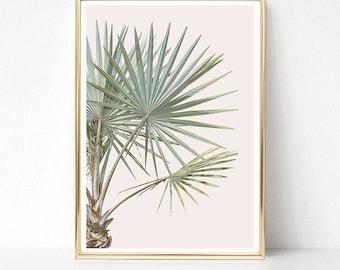 Superbe Tropical Leaf Print, Palm Tree Print, Tropical Wall Decor, PRINTABLE Art  Prints,