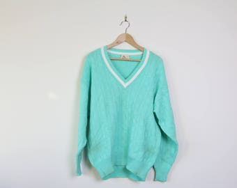 Arnold Palmer Turquoise Sweater