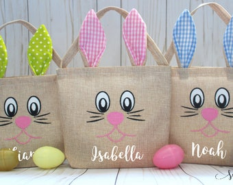 Easter basket etsy easter bag easter basket personalized easter bag custom easter basket toddler easter negle Choice Image