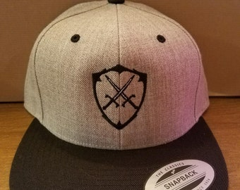 Kingdom Beard Co Snapback Embroidered Hat