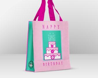 Reusable Happy Birthday Gift Bags