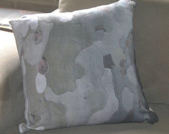 Natural Bark cushion