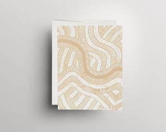 printing, lino Print, linocut, linocut, greeting card, A6