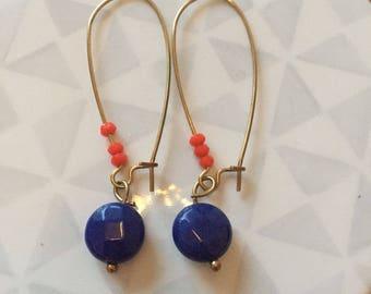 Opal N1 earring