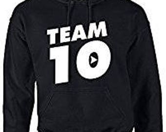 Jake Paul Team 10 Youth hoodie. 100% COTTON. Jake Paul Merch