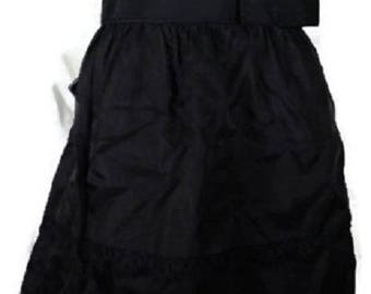 White House Black Market Black & Ivory Dress. NWT. 6