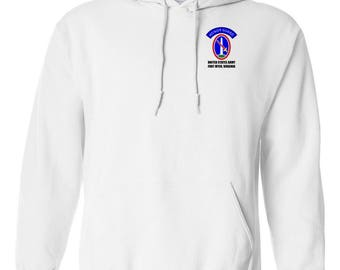 U.S. Army Honor Guard Embroidered Hooded Sweatshirt-7653