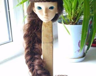 "Sale Wigs on Minifee, bjd ,MSD ,MNF, 7-8"" wig,Size 7-8"".minifee,минифи MSD Mos"