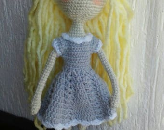 15 inches tall Crochet Doll