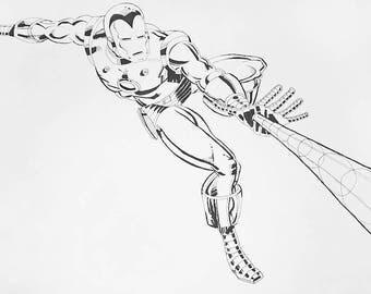 Marvel Comics Iron Man - Print