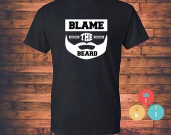 BLAME THE BEARD Men's T-shirt