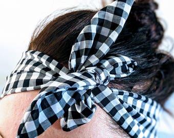 Wrap + Tie Headbands