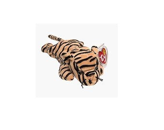 Ty Beanie Babies Stripes the Tiger 1995