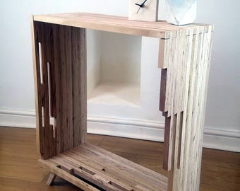 Cubic Ply Console Table