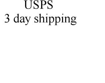 USPS 3 day shipping option