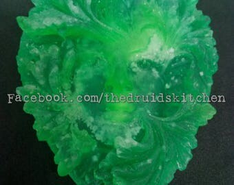 Green Lady Glycerine Soap With Lime & Bergamot Essential OIls