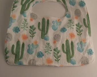 Cactus Baby Bib