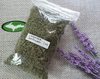 Lavender Potpourri for scented satchels