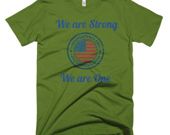 We are Strong We are One, Short-Sleeve T-Shirt