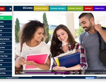 Englishentry Student Version - 15 Cursos de Ingles Software + Clases en Vivo - 5000+ 15 libros + 10 Materiales Adicionales Incluidos MAC OSX