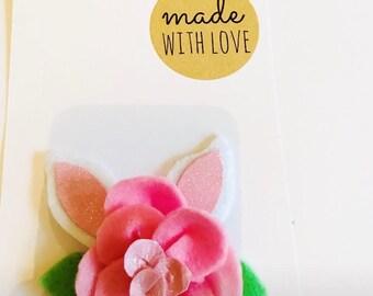 Flower Easter clip
