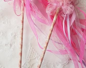 Flower Girl Wand, Bridesmaid wand, wedding accessory