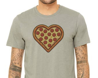 Pizza Lover : Adult's Soft Blend T-Shirt