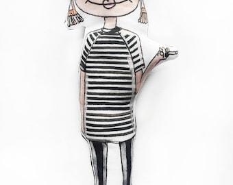 Edie Sedgwick Doll