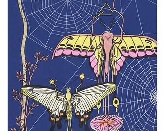 moth music silkscreen