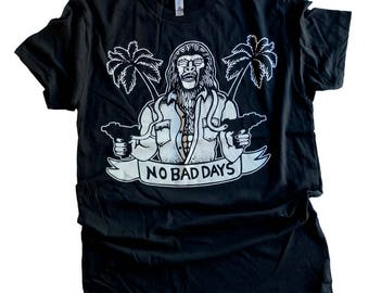 No Bad Days Planet of the Apes shirt from John Black