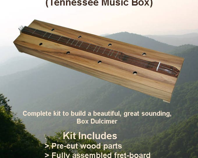Box Dulcimer Kit - Cherry or Poplar