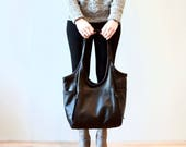 seven pocket tote | large | select leather color from drop down