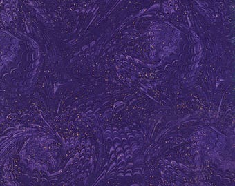 Marble Violet Enchanted Chong-A Hwang Timeless Treasures Fabric