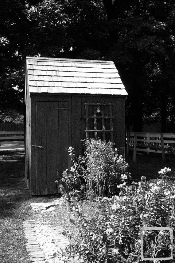 """The Garden Shed,"" Kissam House, Huntington, New York, 2016."