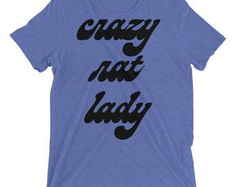 Crazy Rat Lady Shirt Rat Owner Pet Rat Custom Rat Shirt Rat Lover Shirt Rat Lovers Shirt Mouse Rat Gift Rat Pet Gifts Rodent Animal Shirt