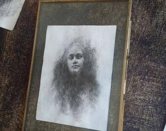 Original sketch by Françoise Stéfanski - Sidéré #3