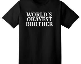 Funny Tshirt - brother sibling funny gift t shirt