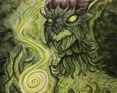 Green Fairy - Original Pa...