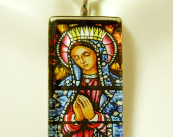 Our Lady of Guadalupe pendant with chain - GP12-040