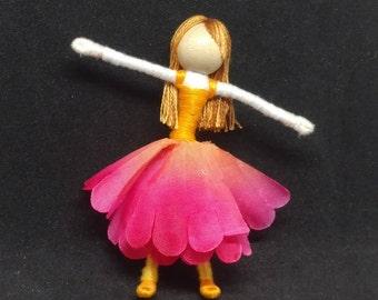 Hot Pink Waldorf Flower Fairy