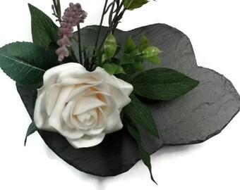 Ikebana Slate Vase