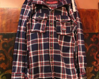 Superdry plaid jacket