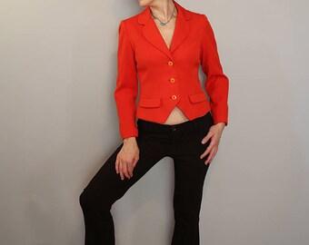 David Hayes 80s waist length jacket size sm/m