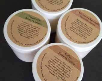 Small Beeswax Lotion, Choose Your Scent Natural Lotion, Hand and Body Lotion, Hand Cream, Homemade Lotion, Handmade Lotion, Moisturizing