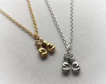 Boxing Gloves necklace, MMA