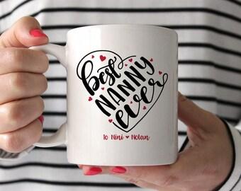 Nanny Gift Nanny Mug Nanny Goodbye Gift Nanny Coffee Mug Best Nanny Ever Nanny Birthday Gift Nanny Christmas Gift Personalized