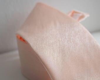 Shimmer Blush Neck Tie