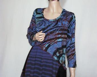 XL Swirls and Stripes